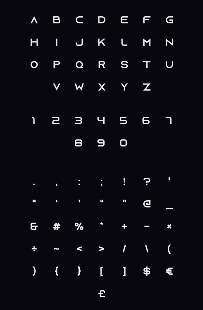 download free font - azonix