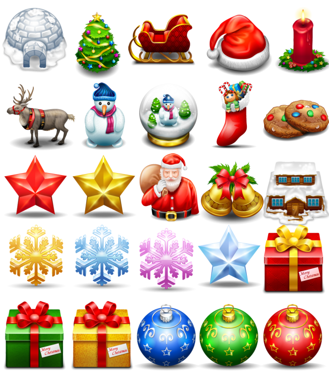free christmas icon png by freeiconsfinder