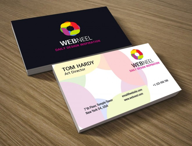 colorful business template 14