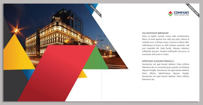 15 Free Corporate BiFold and Trifold Brochure Templates ...