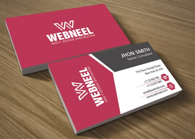 31 modern business card template - free download