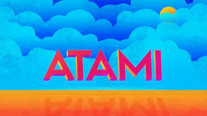 free font - atami
