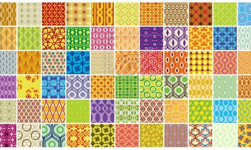 retro patterns new