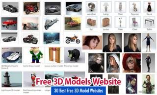 Free 3D Models Websites
