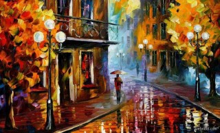 28 Beautiful Vividly Colored Landscapes and Paintings by Leonid Afremov