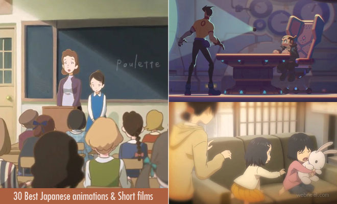 30 Best Japanese animations - 2D and 3D Animated Short Films