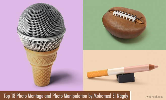 20 Photo Montage and Photo Manipulation works using everyday objects by Mohamed El Nagdy