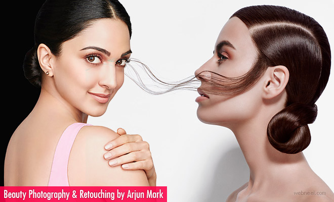 Beauty is only skin deep - Beauty Photography and photo retouching works by Arjun Mark