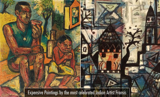 Expensive Paintings from most celebrated Indian artist Francis Newton Souza