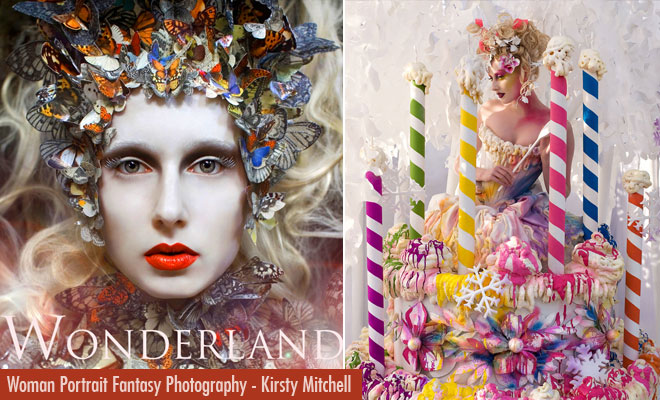 Wonderland - Beautiful woman Portrait and Fantasy Photography ideas by Kirsty Mitchell