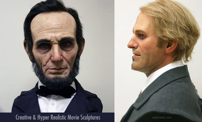 30 Creative Concept Artworks and Hyper Realistic Movie Sculptures