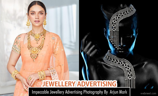 Impeccable Jewellery Advertising Photography By The Most Celebrated Photographer Arjun Mark