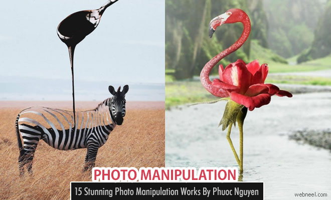 Dandelions or Animals - Beautiful Photoshop Manipulation Works by Phuoc Nguyen