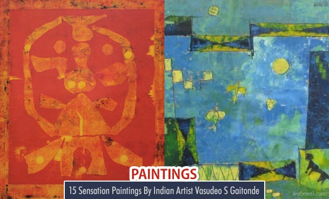 Sensational Abstract Paintings by Indian Artist Vasudeo S Gaitendo