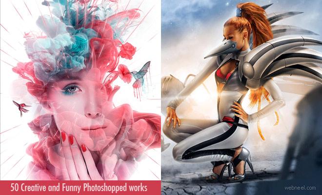 20 Creative and Funny Photoshopped works - Photo Manipulation Works