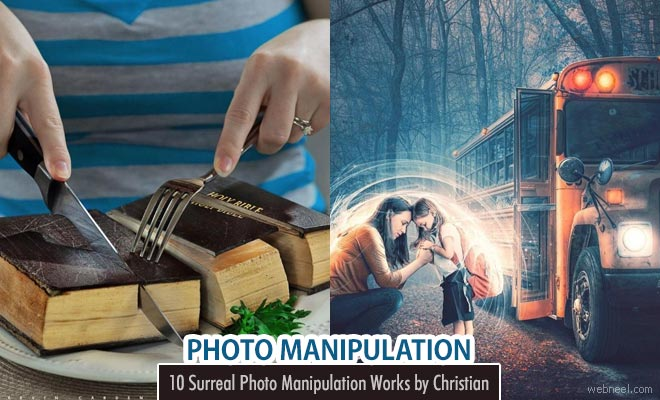 Unbelievable Photomanipulation and Photoshop Editing by Christian