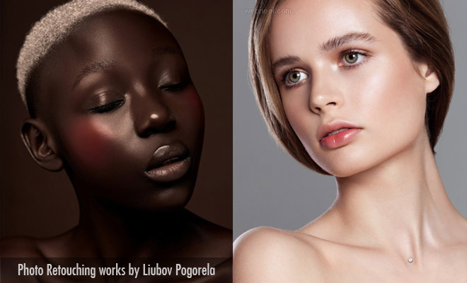 Beauty is around us Everywhere - Photo Retouching works by Liubov Pogorela