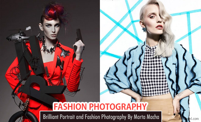 Creative and Brilliant Fashion Photography ideas by Marta Macha