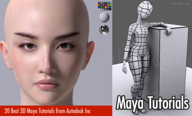 20 Best 3D Maya Tutorials for Beginners from Autodesk Inc