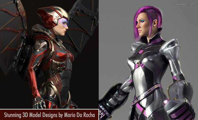 Unresolved Mystery - 20 Stunning Sci-fi 3D Model Designs by Mario Da Rocha