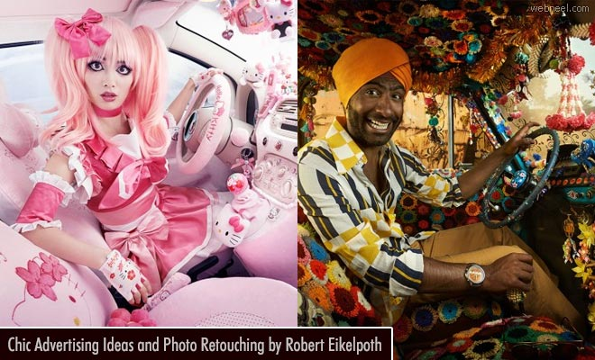 Fashionista Drivers - Creative Advertising Campaign ideas by Robert Eikelpoth