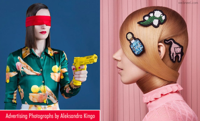 20 Quirky and Bold advertising Photography ideas by Aleksandra Kingo