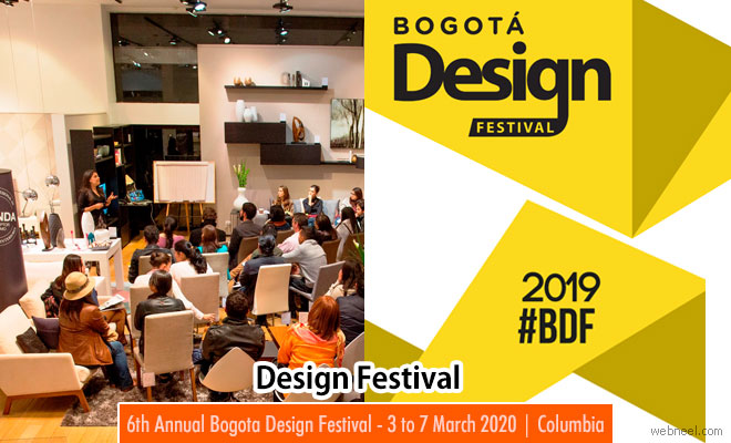 6th Annual Bogota Design Festival - 3 to 7 March 2020 | Columbia