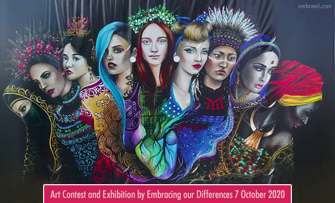 Art Contest and Exhibition by Embracing our Differences - 1 April 2021