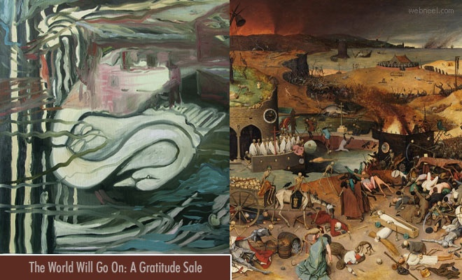 Art Exhibition The World Will Go On: A Gratitude Sale as a respite from the Covid-19 Pandemic