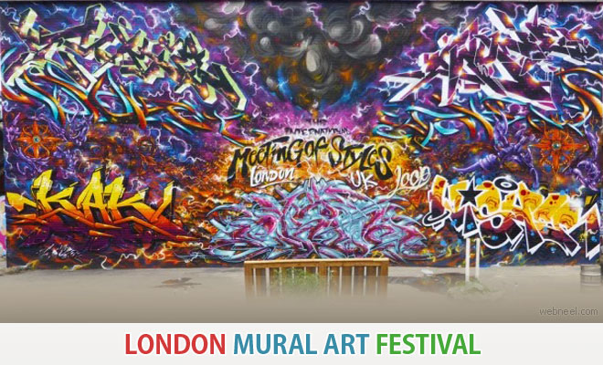 London Mural Art Festival is scheduled for 1-13 Sep 2020