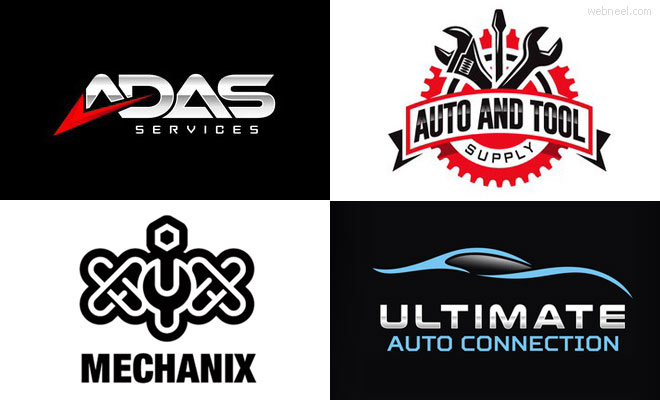 30 Creative Car Logo design ideas - Car Shop and Automotive industry