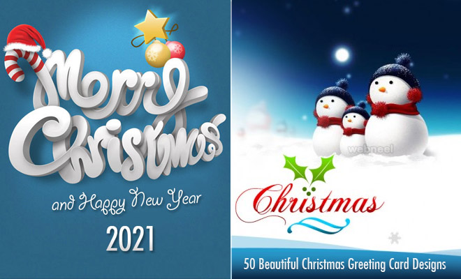 Christmas greeting card 2020