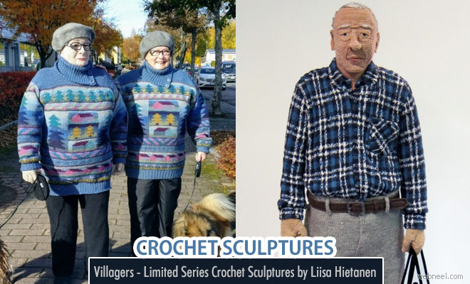 Crochet Sculptures