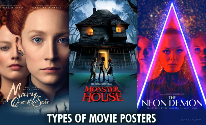 Different types of Movie Poster Designs