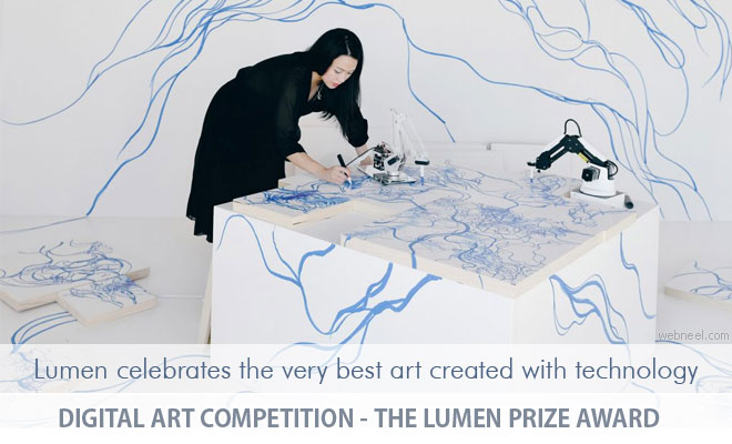 Digital Art Competition - The Lumen Prize Award welcomes entries up to 8 May 2020