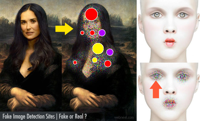 Fake Image Detection Sites - Photo manipulation Top Secrets Revealed | Fake or Real