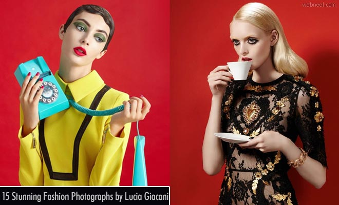 15 Colorful Fashion Photography works by famous italy photographer Lucia Giacani
