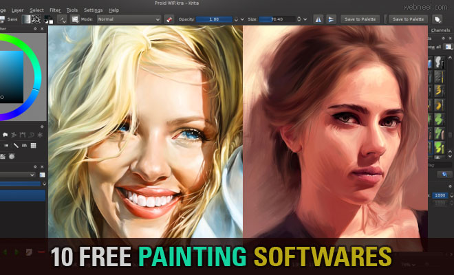Free Painting Softwares