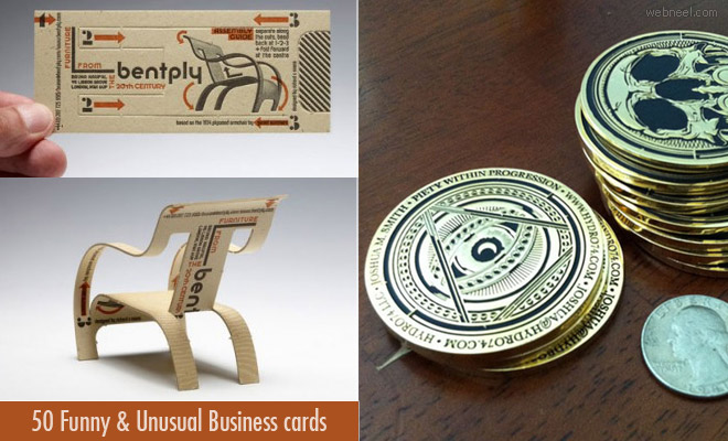 Funny Business Card Designs