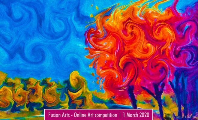 Fusion Arts 4th Annual Colors Online Art Competition | 1 March 2020