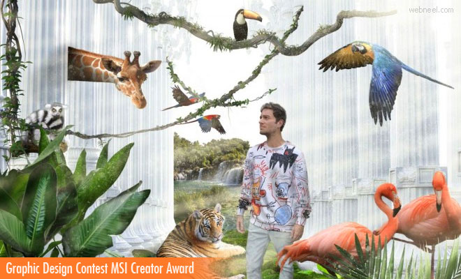 Graphic Design Contest MSI Creator Award - Entries by 13 May 2020