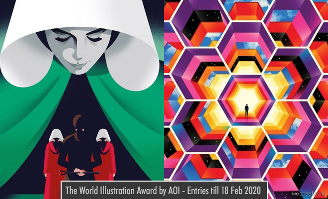 The World Illustration Award by AOI - Entries till 18 Feb 2020