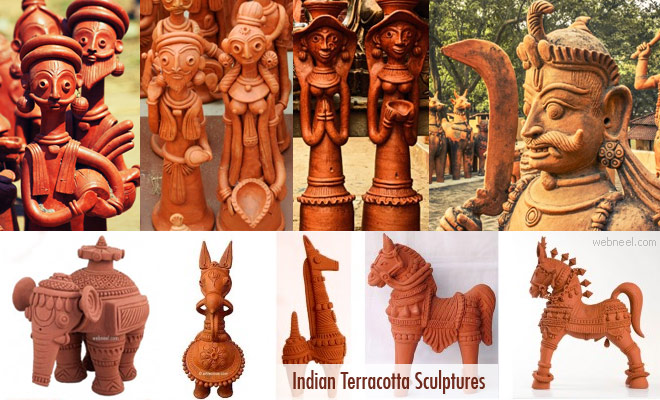 terracotta sculptures
