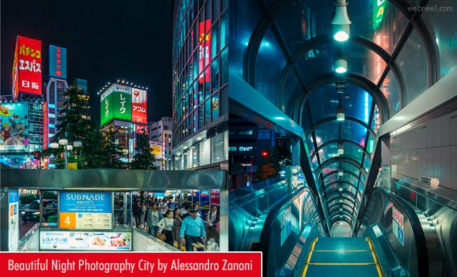 Travel the world through my lens City Night Photography works by Alessandro Zanoni