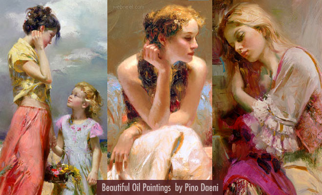 25 Mind-Blowing Oil Paintings by Pino Daeni - Feelings of Warmth, Nostalgia and Love