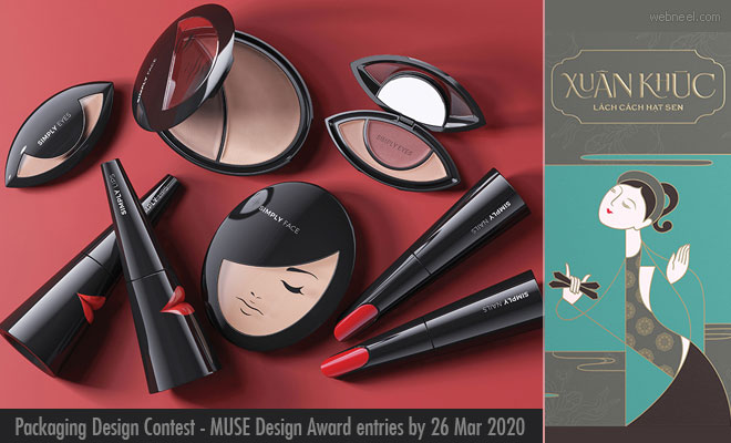 Packaging Design Contest - MUSE Design Award entries by 26 March 2020