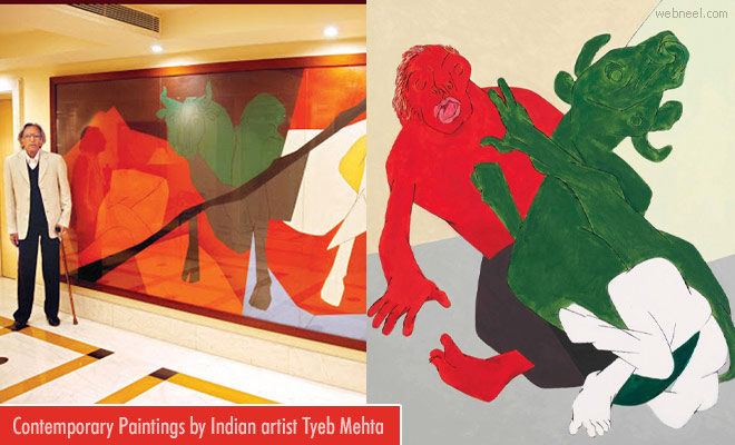 20 Expensive Paintings from Most Famous and Modernist Indian Artist Tyeb Mehta