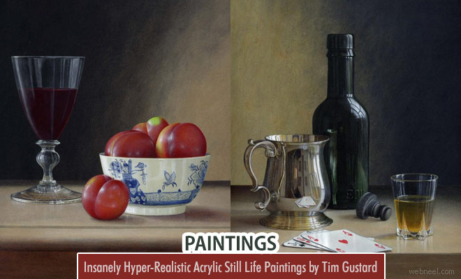 Insanely Hyper-Realistic Acrylic Still Life Paintings by Tim Gustard1