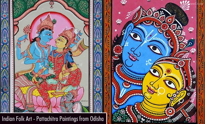 15 Beautiful Pattachitra Paintings - Folk and Tribal Art of Odisha India
