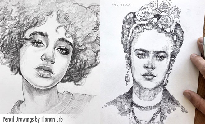 Alluring and Mind Blowing Pencil Drawings by Florian Erb